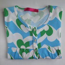 AGATHA RUIZ DE LA PRADA BLUE GREEN NIGHTIE S/M   Pyjama Night Dress Wear Hearts