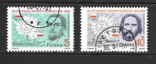 1986 Poland full set 2 stamps 25th Anniversary of Antarctic Agreement CTO