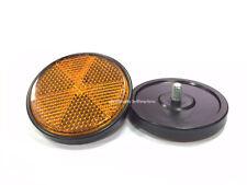 Front pair Reflectors Amber Suzuki DR200SE DR650SE DL1000 DL650 DRZ125 DRZ400S