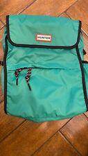 Hunter original green foldable rucksack