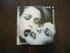 TYPE O NEGATIVE RECORD BLOODY KISSES