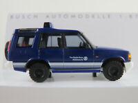 """Busch 51913 Land Rover Discovery Series II (1998) """"THW"""" in blau 1:87/H0 NEU/OVP"""