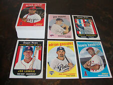 2008 Topps Heritage Baseball---Lot Of 60---No Dupes---Multi-Lots