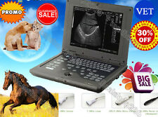VET Veterinary Laptop Ultrasound scanner Diagnostic System 6.5mhz Rectal Probe