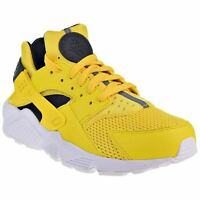Nike Air Huarache Textile Lace-Up Low-Top Sneakers Mens Trainers