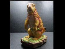 "Prairie Dog Figurine by J. Byron Hand signed 1983 Arnart 6"" H x 4 6/8"" Bottom"