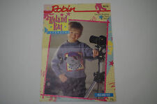 "Knitting Pattern Robin DK Child's Roland Rat Superstar Sweater 22 - 30"" R232"