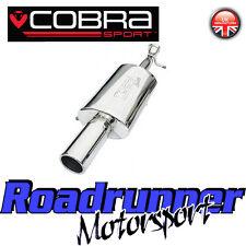 Fd40 Cobra Sport MK6 Fiesta Zetec S Scarico Posteriore Silenziatore Posteriore Scatola INOX