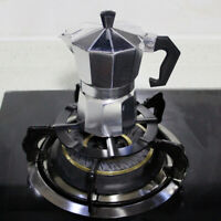 FJ- Metal Coffee Maker Shelf Stove Top Reducer Support Pot Simmer Ring Home Tool