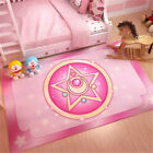 Anime Sailor Moon Bedroom Door Rectangle Carpet Decorative Rug Ground Table Mats