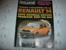 REVUE L'AUTO-JOURNAL JANVIER 1976  RENAULT 14