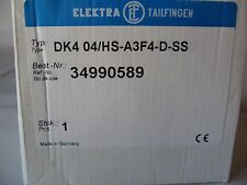 Elektra Tailfingen Lasttrennschalter 80A  neu & ovp Hauptschalter