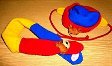 Baby Born Puppen- Kleidung Jeansweste BB46 cool passende Mütze