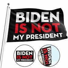 Biden is Not My President flag 2024 Don Trump Jr Ivanka Will Win 3x5ft banner