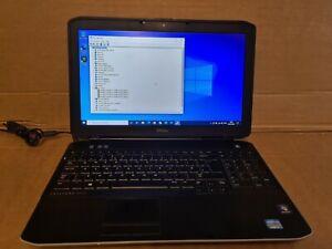 DELL Latitude E5530 15.6 '' Intel i7 3520 2.9GHZ, 8GB Ram 1TB Win10 pro & Office