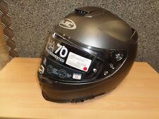 HJC Motorrad Integral Helm RPHA 70 Titanium seidenmatt Gr. XL
