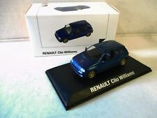 Modellauto Renault Clio 1 Williams  von Norev 1:43  Neu