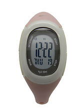 Nike Imara Fit WR0076 Lavender Beige Buttons Chronograph Fitness Ladies Watch
