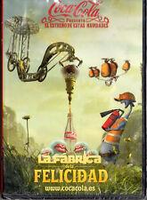 """COCA COLA """"LA FABRICA DE LA FELICIDAD"""" ULTRA RARE SPANISH PROMOTIONAL DVD SEALED"""