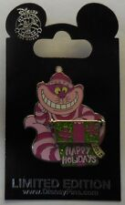 Disney Pin DLR WDW Cast Exclusive Happy Holidays 2012 Cheshire Cat LE1250