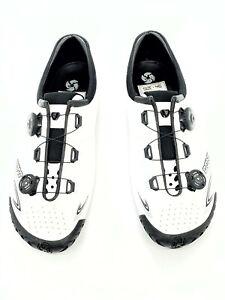 Bontrager Vaypor+ Plus Wide Fit Road Shoes, 46 EU White