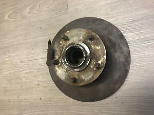 """Facel Vega Facellia 11"""" Brake Rotor Disc and Hub - NEW - Excellent Condition"""