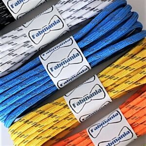 Reflective Fleck Hiking Boot Laces - 3.5/4 mm round