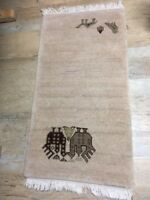 Echter Tunesischer Teppich, 120x60, Sehr Hoher Neupreis Gabbeh