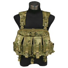FLYYE TACTICAL PATHFINDER RANGE CHEST HARNESS RIG 4 MAG POUCHES MULTICAM CAMO