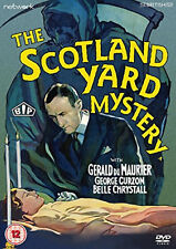 THE SCOTLAND YARD MYSTERY DVD Gerald Du Maurier George Curzon UK Release New R2