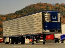 1/64 Dcp Chrome/Blue 53' Utility 3000R Thermo King Reefer Trailer