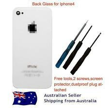 iPhone 4 Replacement Back Glass Screen-White