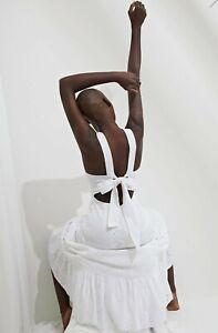Bardot Broderie Anglaise White Dress Size 12