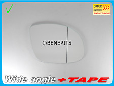 For BMW TUNNING M3 E36 92-99  Wing Mirror Glass Aspheric +TAPE Right Side B014