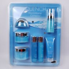 Quench MicroWater Complex Anti Aging 7 Piece Boxed Sealed Set Skin Products NEW