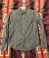 Made & Craft Levis Vintage Clothing LVC Chambray Shirt 1 Italy