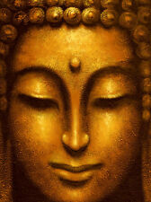 Nataraja: Siddhartha Fertig-Bild 60x80 Wandbild Buddha Feng-Shui Zen Asia