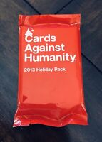 Cards Against Humanity - 2013 Holiday Pack - Expansion Set New Stocking Stuffer