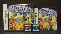 Meteos + Meteos Disney Magic - Nintendo DS Lite 3DS 2DS 2 Game Lot Tested