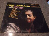 """Neil Sedaka """"Sings Little Devil & Other Hits"""" RCA VICTOR LSP-2421 LP 1ST PRESS"""