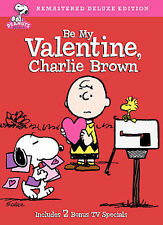 Be My Valentine, Charlie Brown (DVD, 2008, Deluxe Edition)