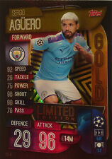 Topps UEFA Champions League 2019 - 2020 LIMITED EDITION GOLD AGUERO