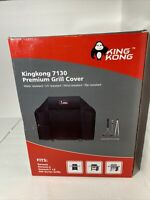 "King Kong Premium Grill Cover K7130 With Brush Tongs Thermometer 58"" X 44.5 X 25"