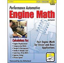 Performance Automotive Engine Math Mathematics Calculations Manual Book Sa204