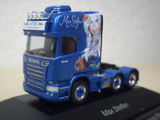 "Herpa - Scania R`13 TL Solo-ZM ""Max Steffen"" (CH) -  PC-Modell 110884 - 1:87"