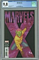 Marvels X #1 CGC 9.8 1st First Print Edition Alex Ross Cover & Story 2020 Goblin