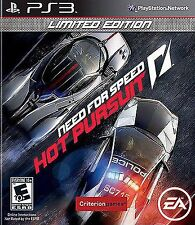 Need For Speed Hot Pursuit Limited Edition PS3 - LN - Game Disc only!