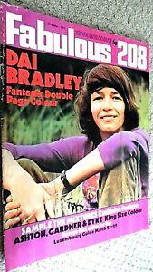 FABULOUS 208 MAGAZINE: 27TH MARCH 1971 (FAB 208) DAI BRADLEY (KES)/ RODNEY BEWES