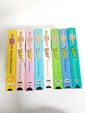 Lot of 8 Baby-sitters Club Movies - 8 VHS tapes 1990's videos Babysitters Club