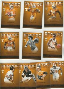 2016 TENNESSEE COMPLETE INSERT SET HONORS 1-10 PEYTON MANNING WITTEN RICHARDSON